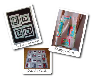 3 of the quilts you can make during the hands-on