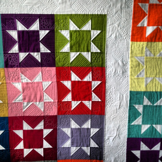 Stash Star Quilting Detail 2