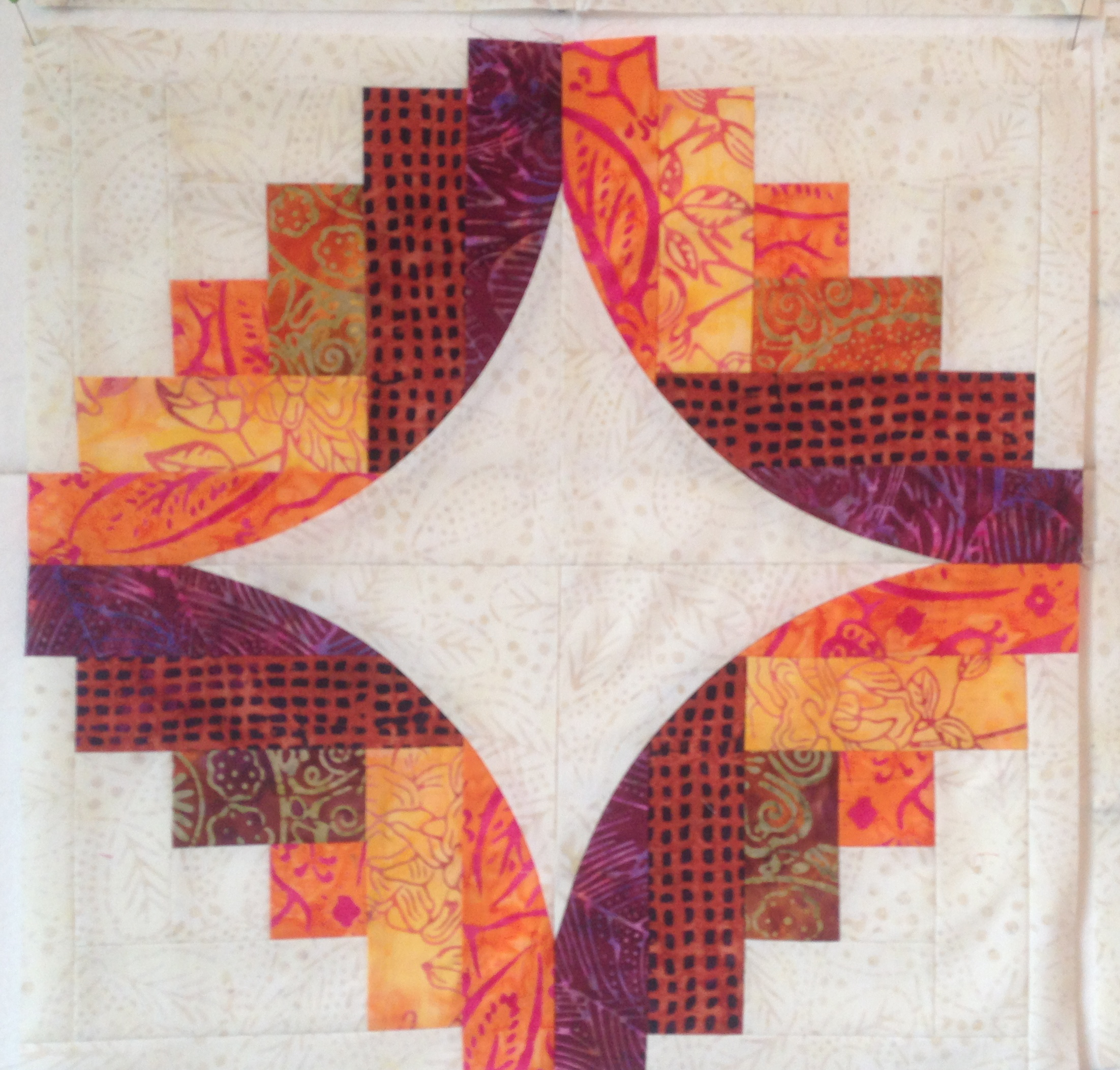 "Sew Kind of Wonderful ""Curve it Up"" Quilt 